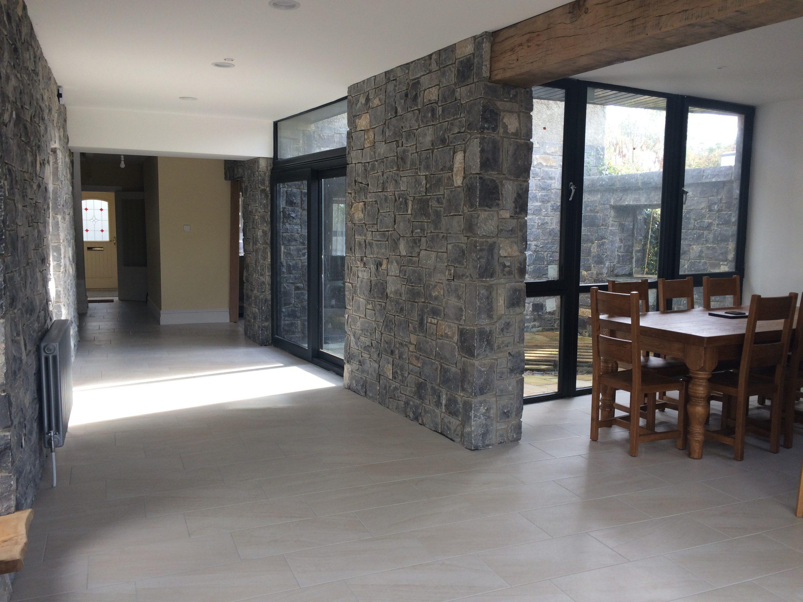 View inside the Heron Brook Lodge - Luxury stays
