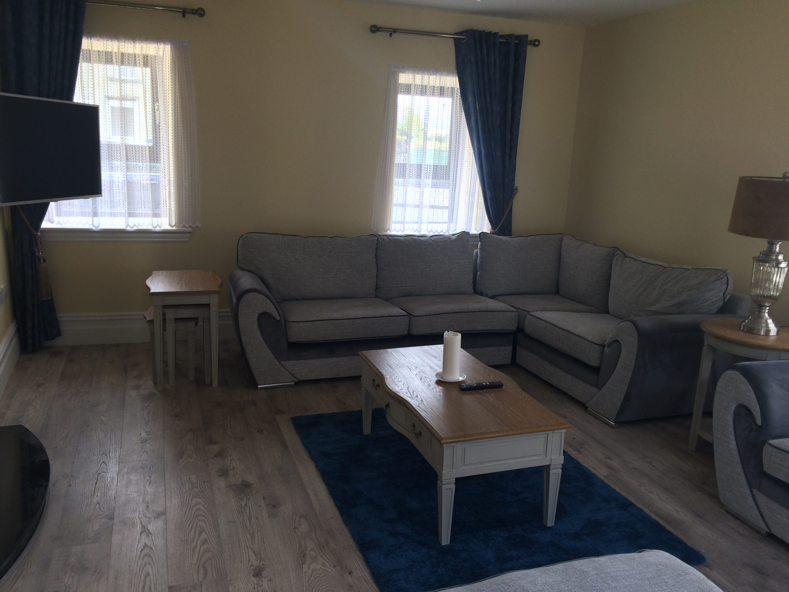 Living room at Heron Brook Lodge - Luxury Stay